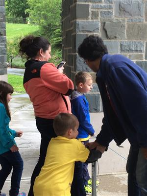 1st graders visit Colgate University