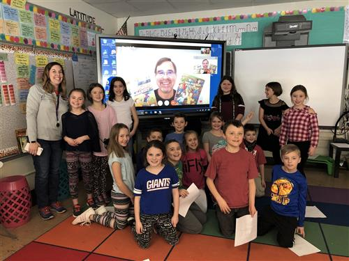 3rd Graders Meet Author